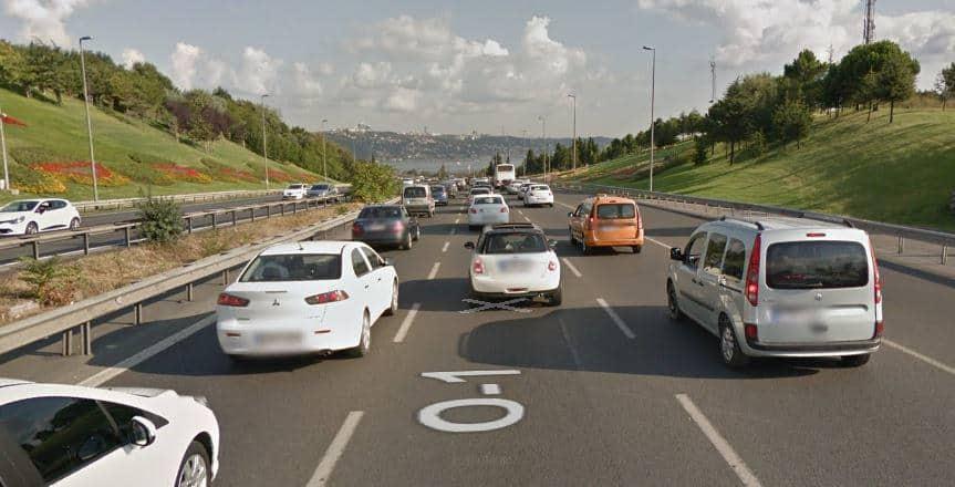 Haritalar Trafik Durumunu Nasıl