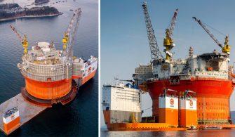 Dünyanın en büyük ağır yük gemisi