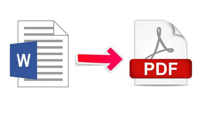 word pdf çevirme