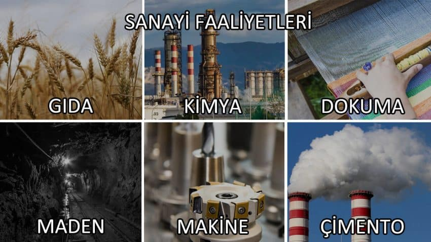 Sanayi Faaliyetleri