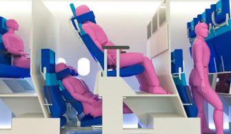 çift katlı uçak tasarımı