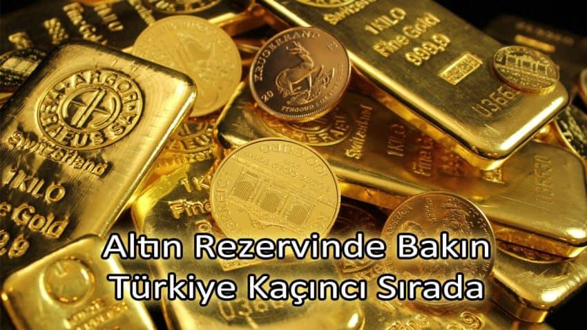En Çok Altını Olan Ülkeler Sıralaması