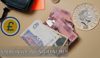 sterlin ve pound